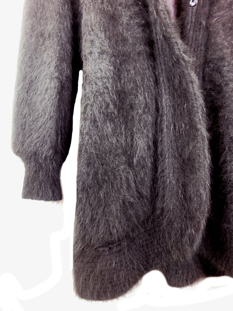 vintage mohair wool coat plaisirpalace