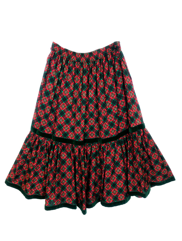 saint laurent vintage ysl wool skirt plaisir palace the high-end vintage boutique Paris second-hand luxury second-hand second-hand clothing store