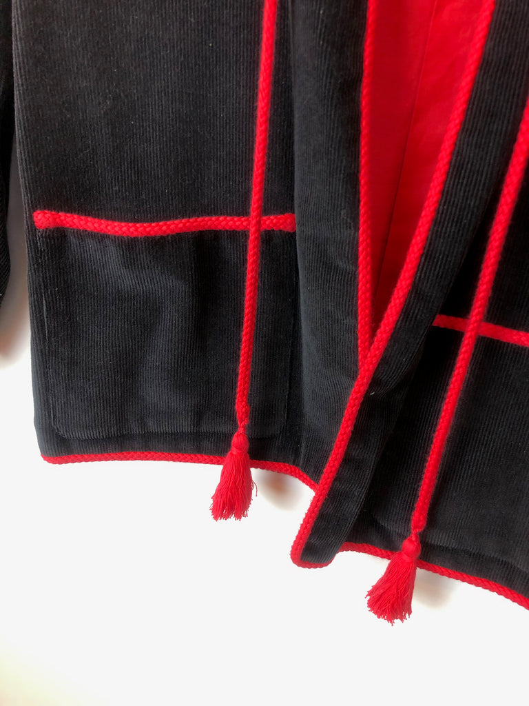 detail veste ysl saint laurent vintage plaisir palace