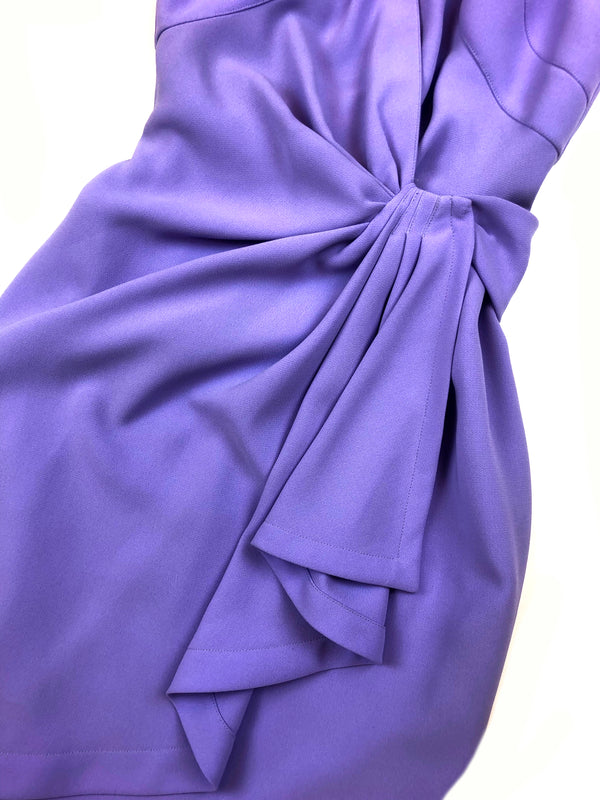 vintage thierry mugler purple dress plaisir palace best of vintage store in paris