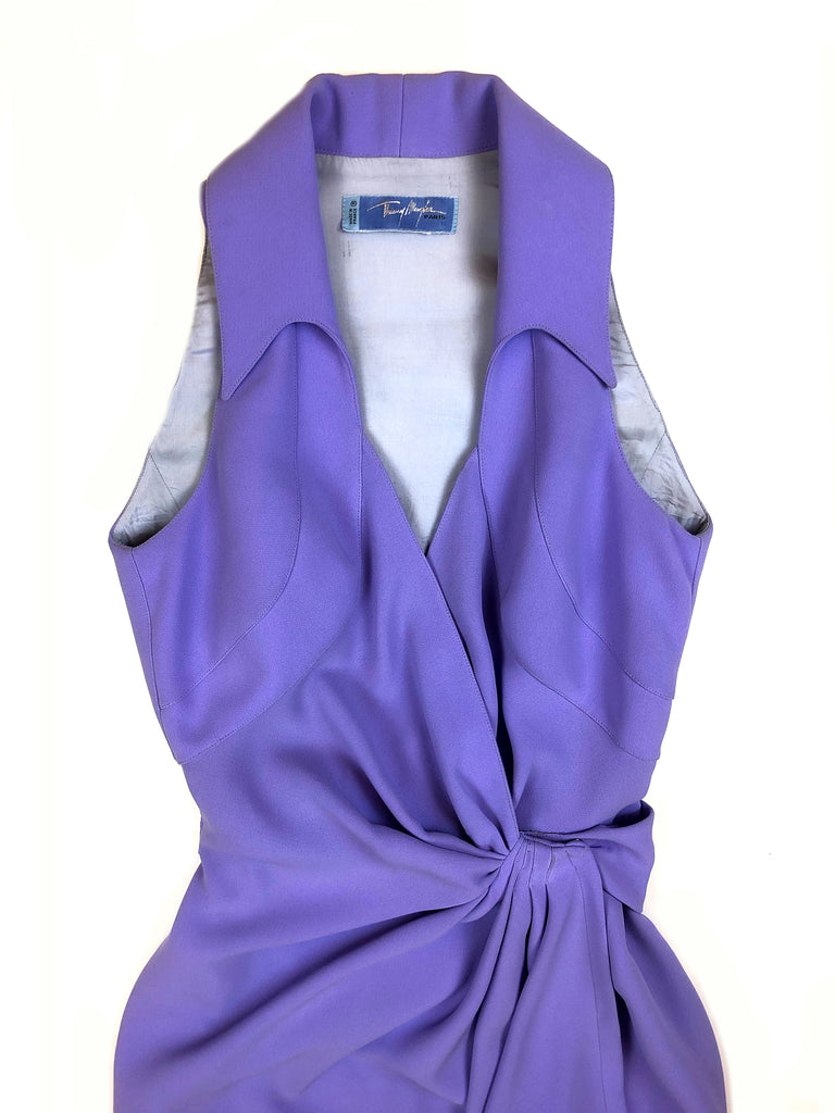 manfred thierry mugler vintage dress parma plaisir palace the high-end vintage boutique Paris second-hand luxury second-hand second-hand clothing store