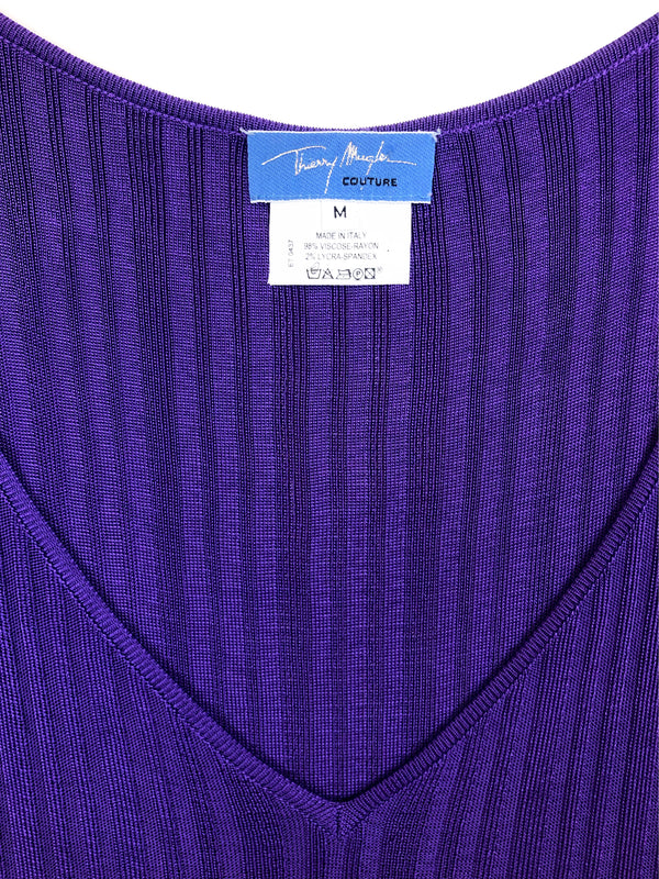 vintage thierry mugler stretch mesh top plaisir palace the high-end vintage boutique Paris second-hand luxury second-hand second-hand clothing store
