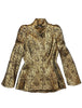 mugler vintage jacket wool and gold lurex rare at plaisir palace Paris