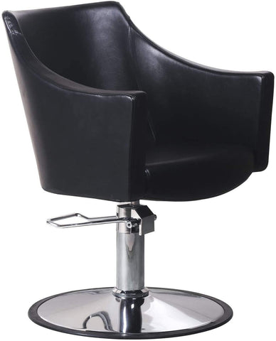 Hydraulic Barber Chair - Black - New Era Barber Supply
