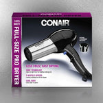 1875W Hair Dryer - Black Chrome - New Era Barber Supply