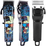 Professional Haircutting Kit - Blue Skull
