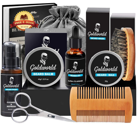 Complete Beard Growth Kit - Includes Wax - New Era Barber Supply