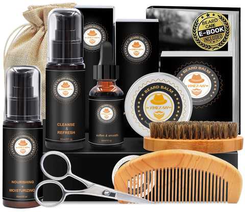 Upgraded Beard Grooming Kit With Gift Box - New Era Barber Supply