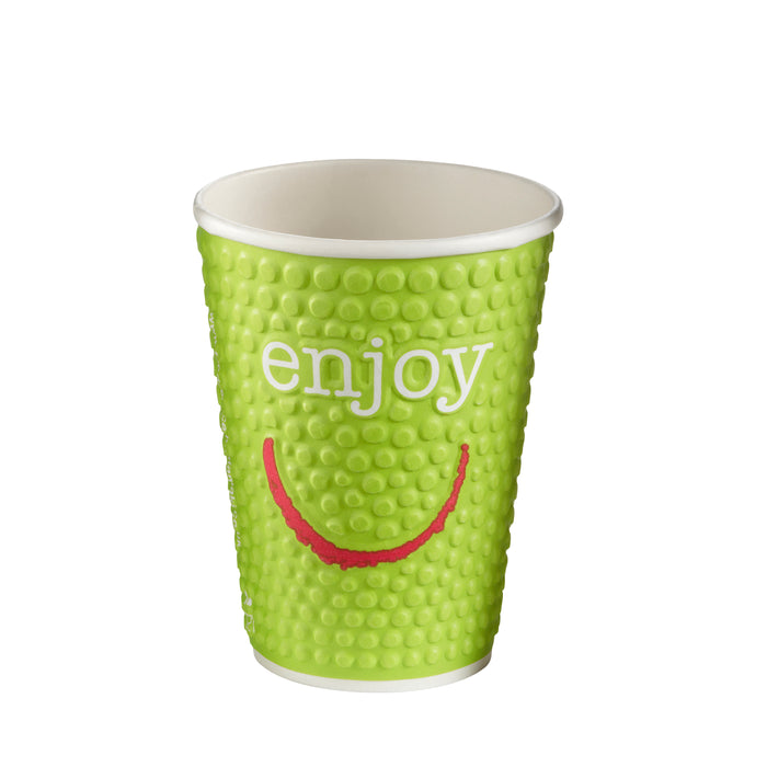Enjoy double wall hot cup 12oz