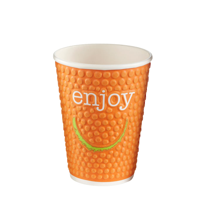 Enjoy double wall hot cup 8oz
