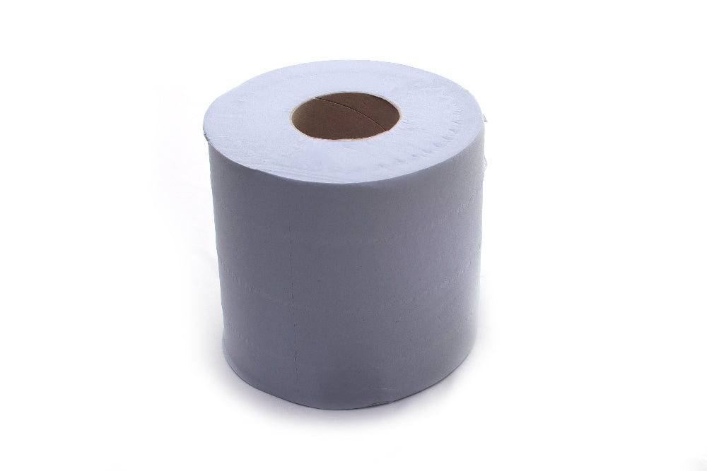 Centrefeed rolls Blue 2ply 150m