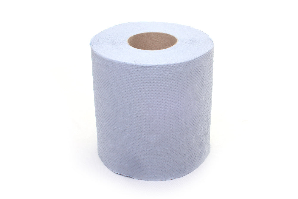 Centrefeed rolls embossed Blue 2ply 120m x 175mm