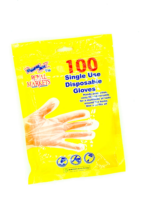 Single use disposable gloves