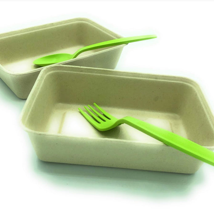 Biodegradable green knife 7""