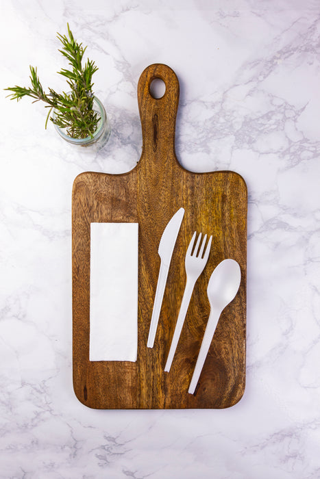 Compostable CPLA cutlery kit