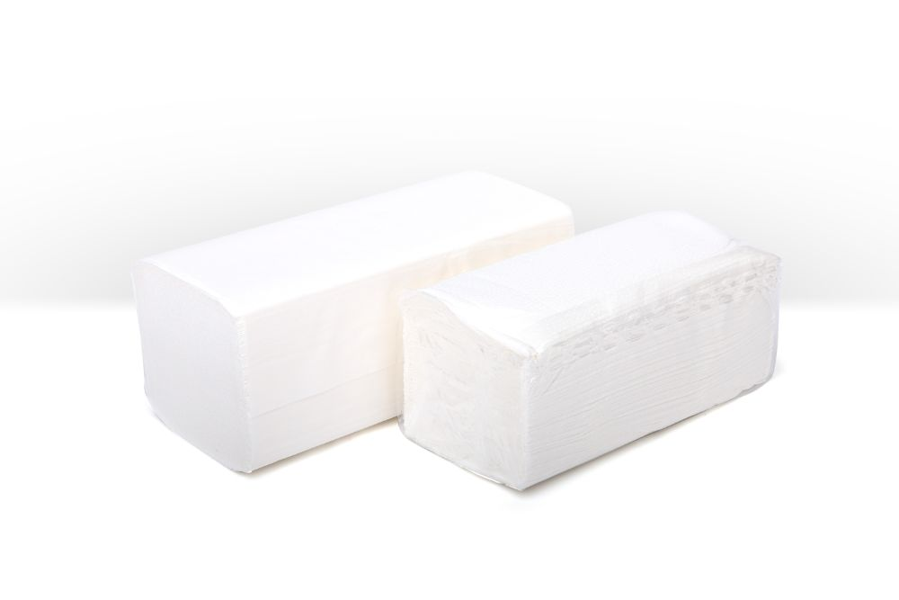 C-fold handtowels white 2 ply 310x230mm