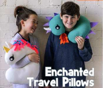 Enchanted Travel Pillows
