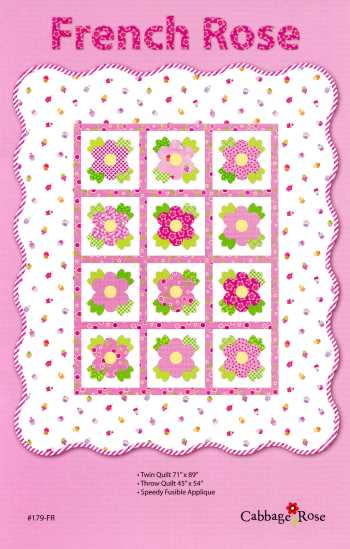 French Rose Quilt Pattern