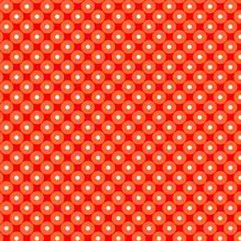 Tonal Dot in Orange - Celebrate Summer
