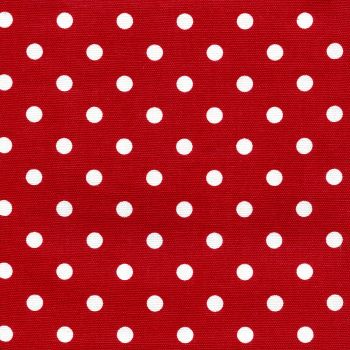 Polka Dot Tea Towels Red - Kimberbell