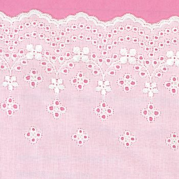 Double Loop Eyelet - Eyelet Fabrics by Lecien