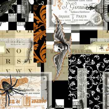 Spooky Document Collage - Boo Brew