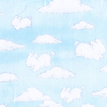 Blue Sky and Whimsical Clouds - Cotton Tail Farm