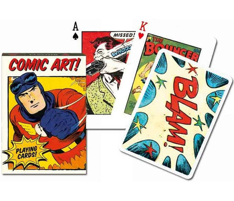 Comic Art! Playing Cards By Piatnik