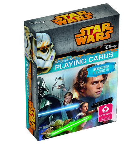 Star Wars Episodes I-III Playing Cards