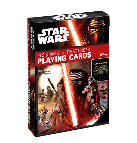Star Wars Episode VII Playing Cards