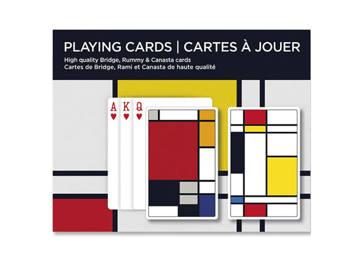 Squares Bridge Playing Cards By Piatnik