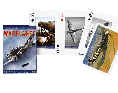 Warplanes Playing Cards By Piatnik