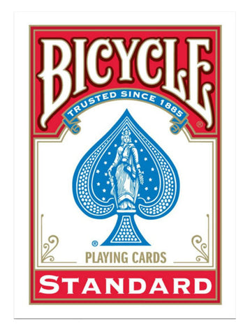 Bicycle Playing Cards Standard Index-Red Backed