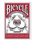 Bicycle World Series of Poker Playing Cards-Red Backed