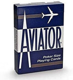 Aviator Playing Cards-Blue Backed