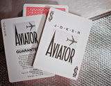 Aviator Playing Cards-Red Backed