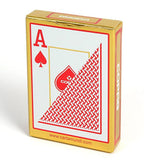 Copag Texas Hold'Em JUMBO Index 100% Plastic Playing Cards-Red Backed