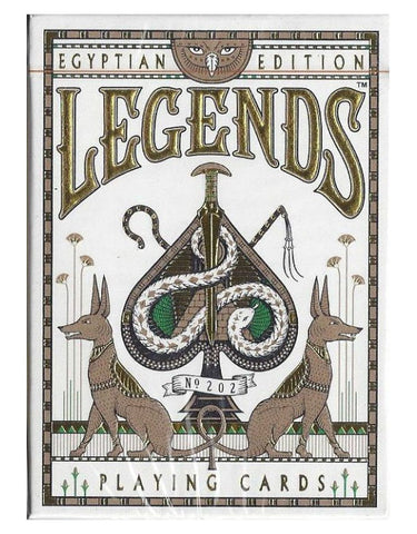 Egyptian Legends Playing Cards-Red Backed