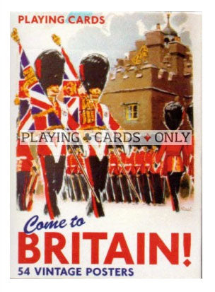 Come To Britain Playing Cards By Piatnik