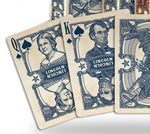 Bicycle Civil War Playing Cards-Blue Backed