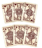 Bicycle Civil War Playing Cards-Red Backed