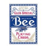 Bee Club Special Diamond Back Poker Playing Cards - Blue