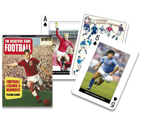 Football - The Beautiful Game Playing Cards
