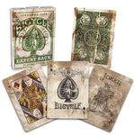 Bicycle Expert Back Playing Cards - Green