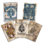 Bicycle Expert Back Playing Cards - Blue