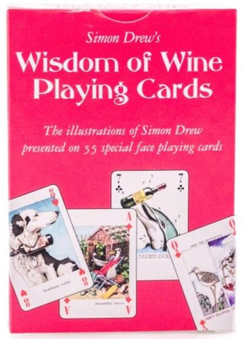 Copy of Simon Drew's Wisdom of Wine Playing Cards