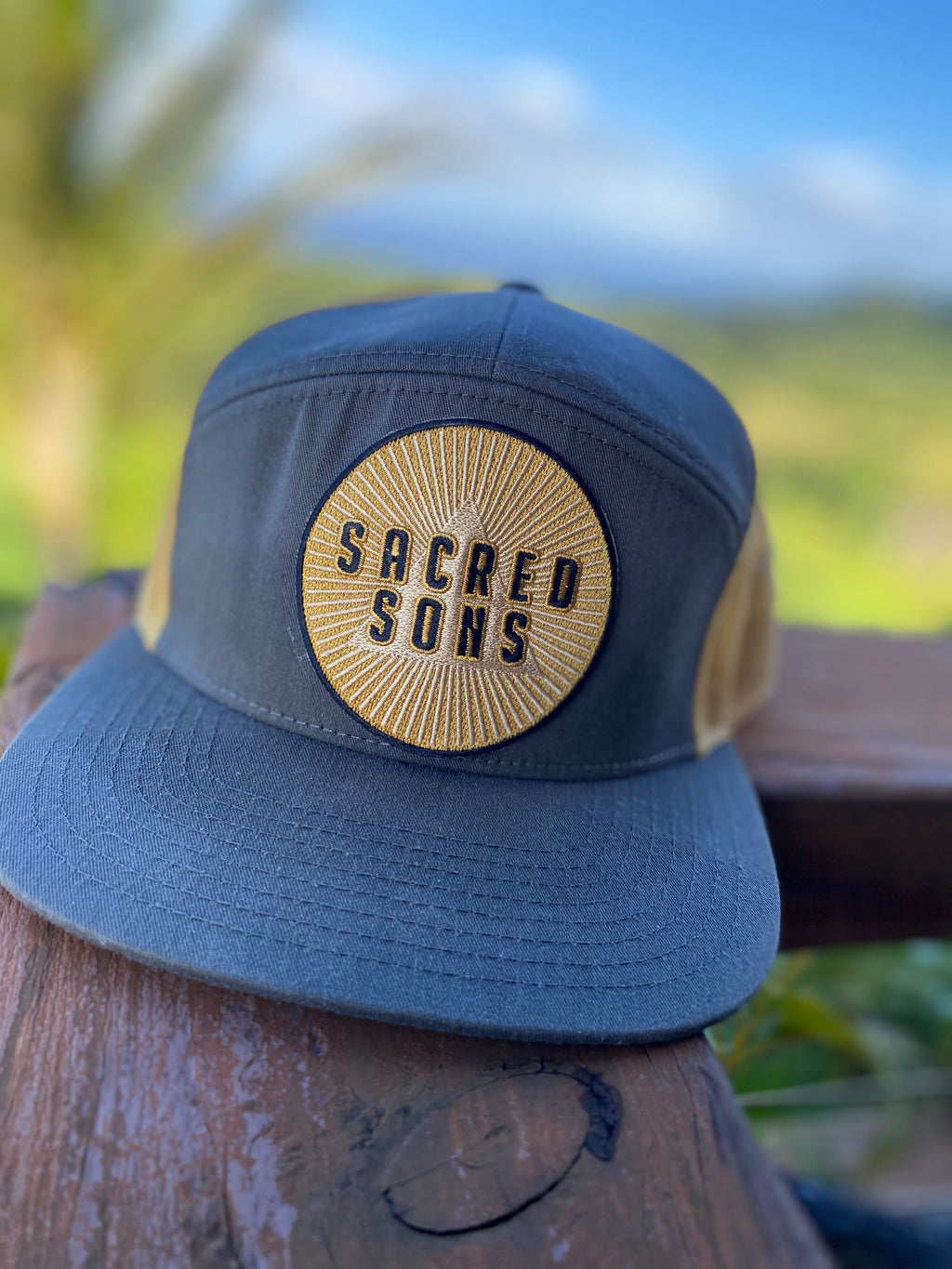 SACRED SONS - Embroidered Patch