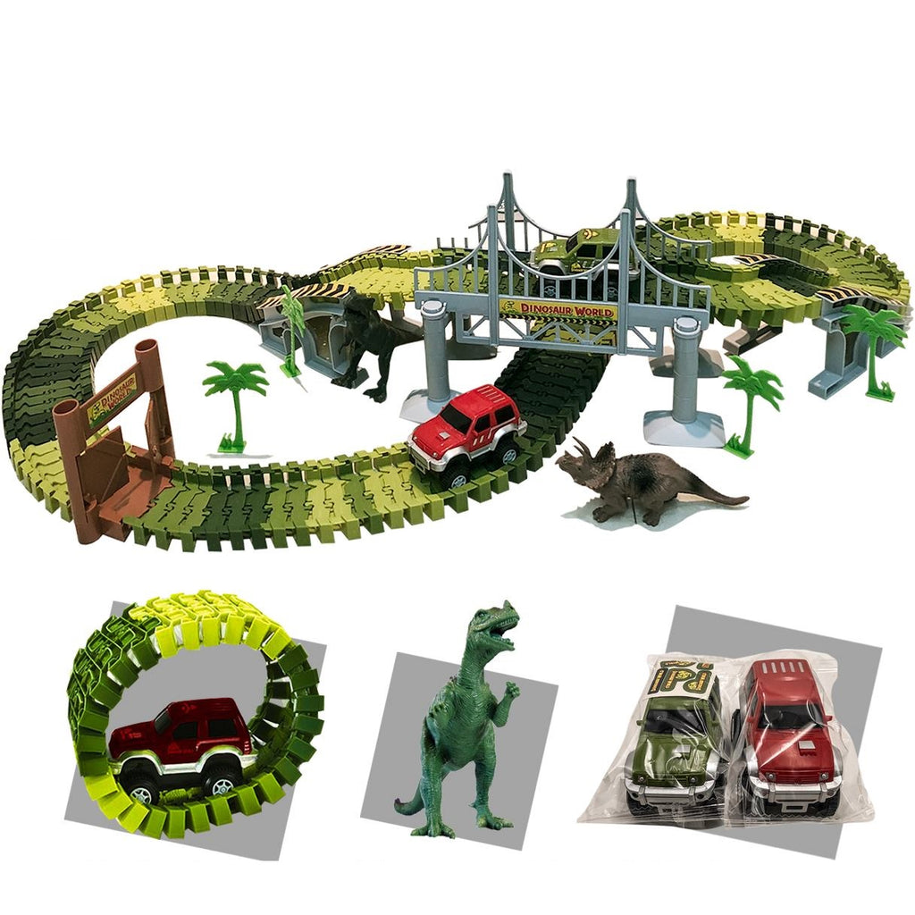 Children's Dinosaur Racetrack Set