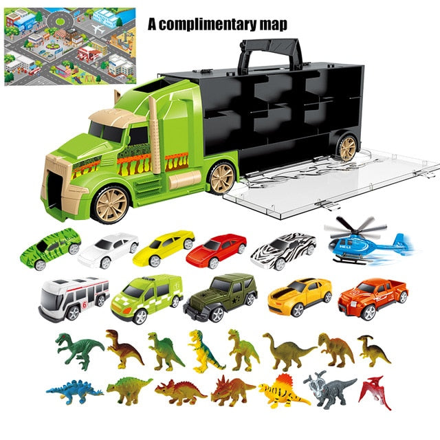Children's Dinosaur Truck Kit