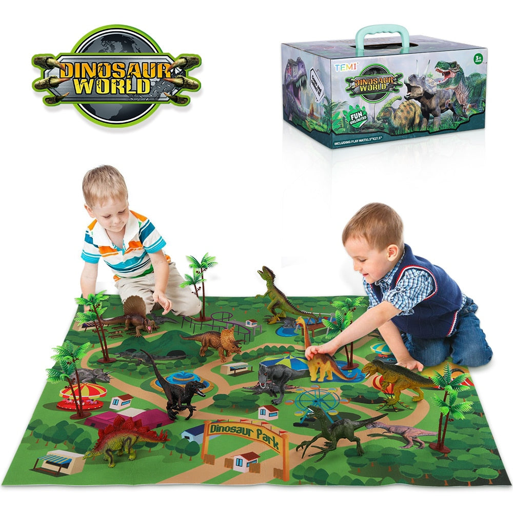 Dinosaur Jungle Playmat